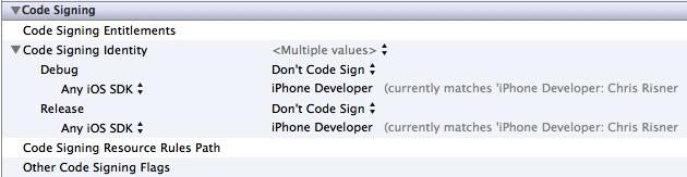 Code signing identity