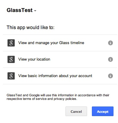 Glass Auth Approval