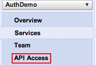 API Access