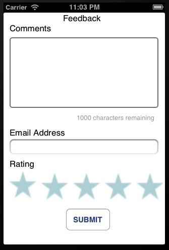 iOS Feedback App